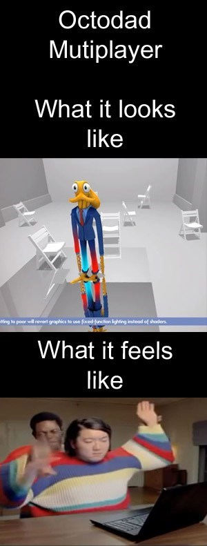 octodad Multiplayer commercials