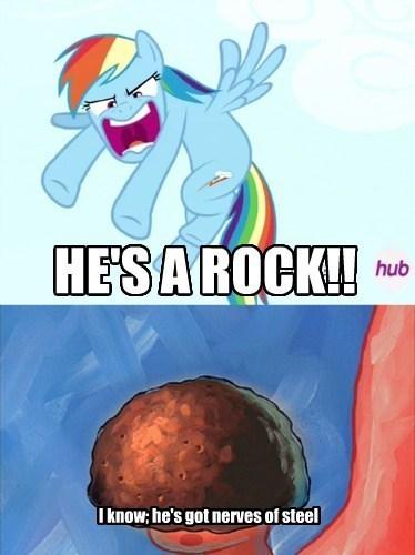 boulder SpongeBob SquarePants rainbow dash - 8111051008