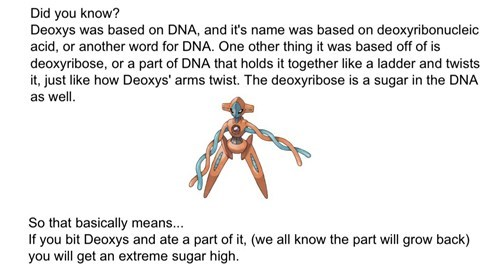 pokemon science,deoxys