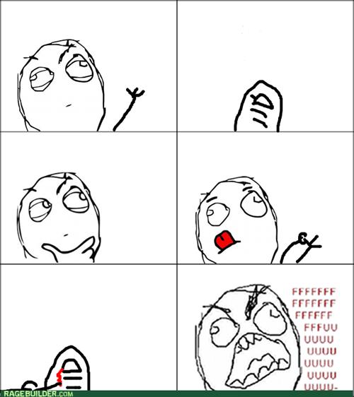 nails rage