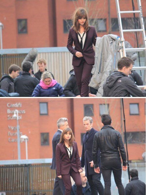 clara oswin oswald jenna-louise coleman 12th Doctor doctor who - 8111437824
