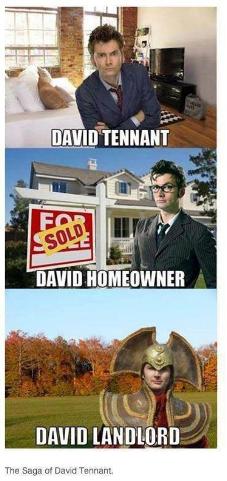 David Tennant 10th doctor puns - 8111451648