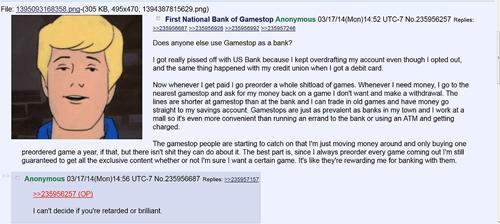 trolling 4chan banking - 8111500288