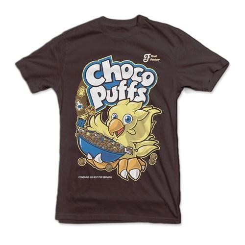 chocobo cocoa puffs tshirts - 8111515904