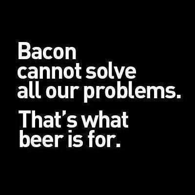 beer,funny,bacon