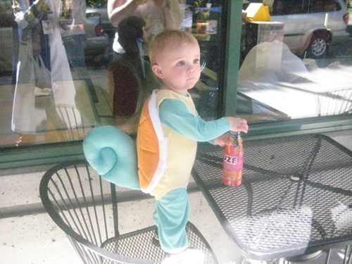 costume,Pokémon,kids,squirtle