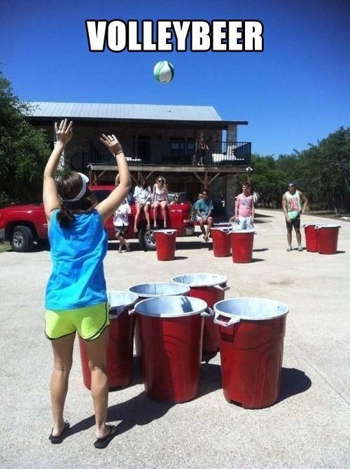 beer volleyball beer pong funny after 12 g rated
