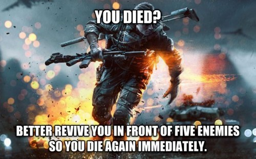 battlefield video game logic