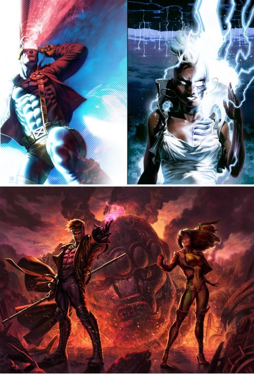 Fan Art,storm,x men,cyclops