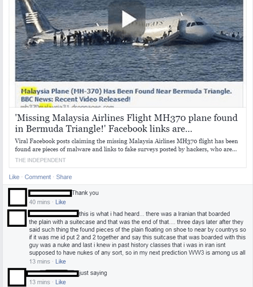 conspiracy facebook airplane - 8111755776