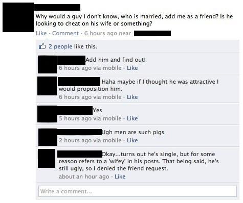 ouch affair facebook men vs women - 8111758336