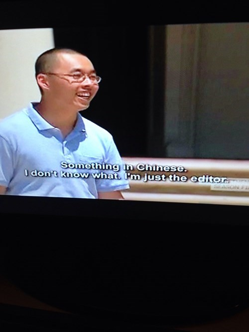 translation TV caption