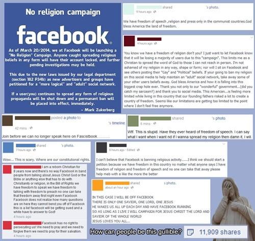 religion facebook prank failbook - 8111769600
