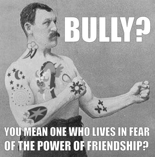 bully friendship is magic MLP - 8112551936