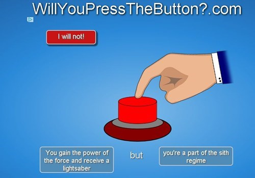 star wars,will you press the button