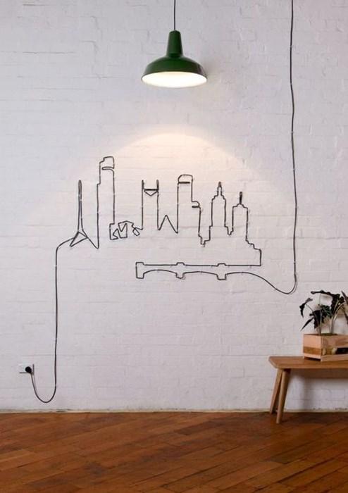 wires art Photo - 8112872704