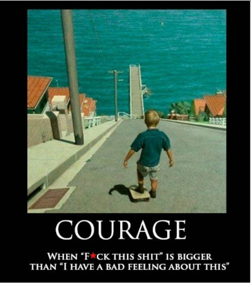 courage idiots funny - 8112997120