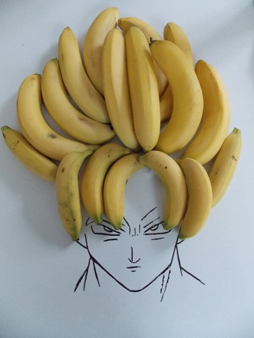 banana,anime,Dragon Ball Z