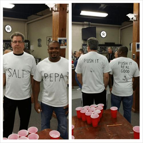salt n pepa beer pong funny - 8113163776
