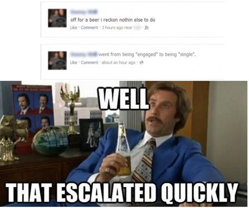 that escalated quickly beer single wtf funny - 8113171712