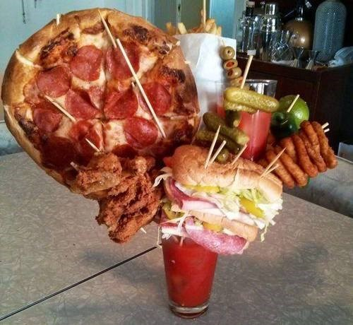 bloody mary pizza awesome funny - 8113192448