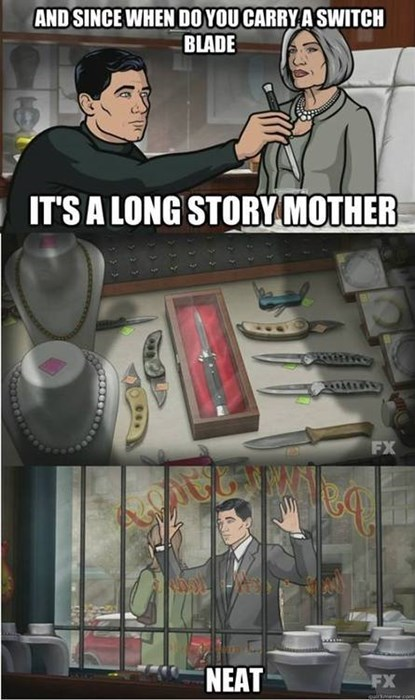 archer cartoons