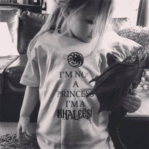 geek kids Game of Thrones parenting khaleesi g rated - 8113241344