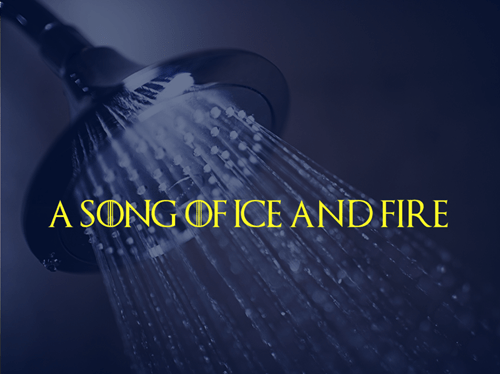 Game of Thrones a song of ice and fire showers - 8113308928
