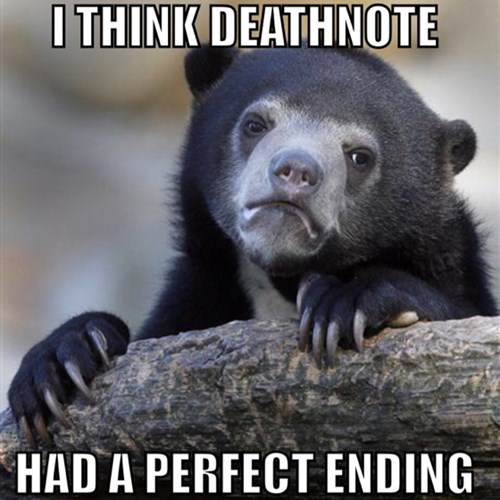 anime,death note,Confession Bear