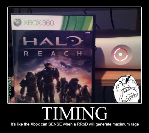 rage red ring of death timing xbox funny