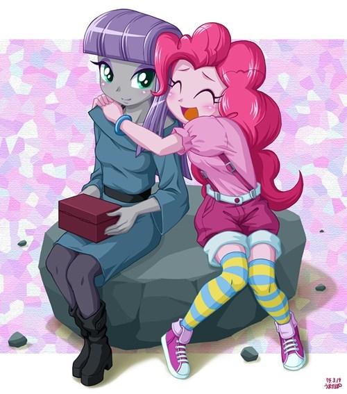 equestria girls Fan Art pinkie pie maud pie - 8113809664
