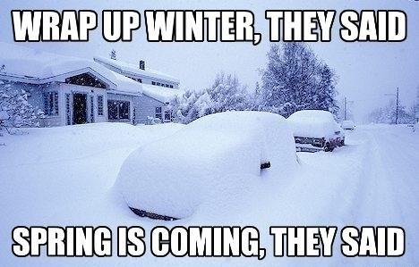 snow spring winter wrap up - 8114292224
