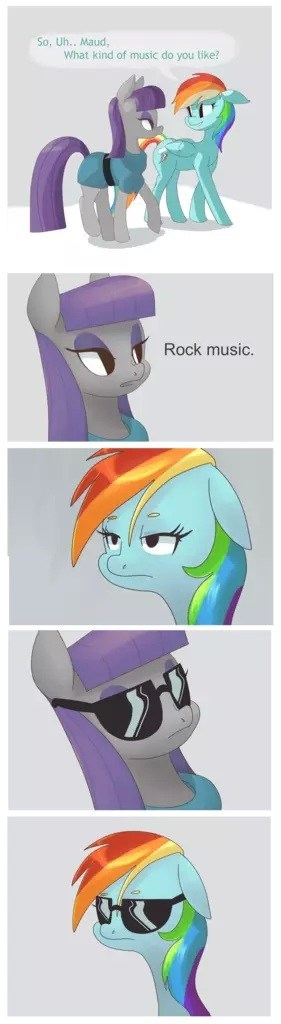 rock puns rainbow dash maud pie - 8114435328