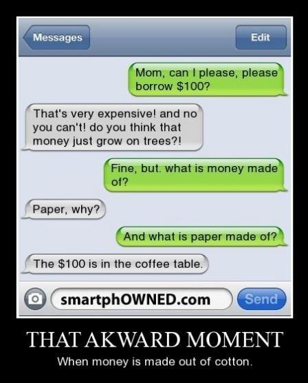 trees cotton funny money - 8114525696