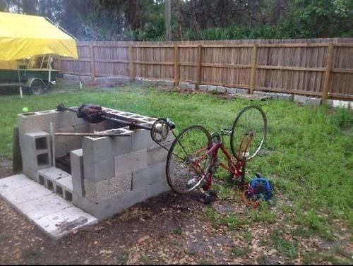awesome grill genius rednecks funny - 8114572288