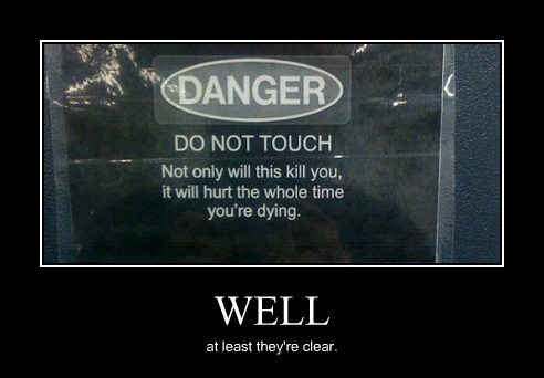 sign wtf dangerous funny - 8114624512