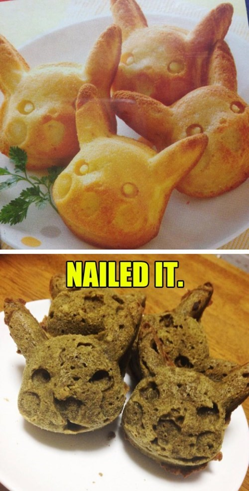 baking pikachu Nailed It - 8114806272
