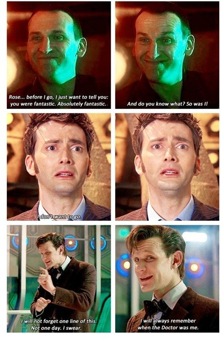 9th doctor,11th Doctor,10th doctor,regeneration