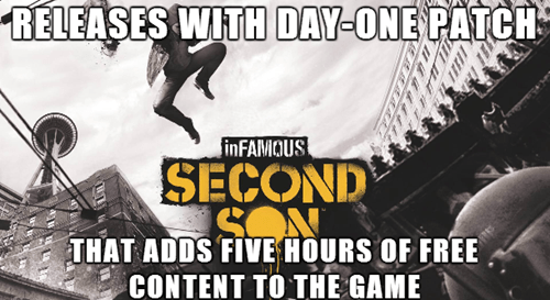 infamous infamous second son - 8114918656