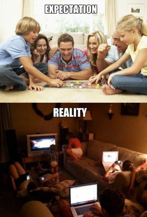 expectations vs reality computer kids parenting g rated - 8114933248