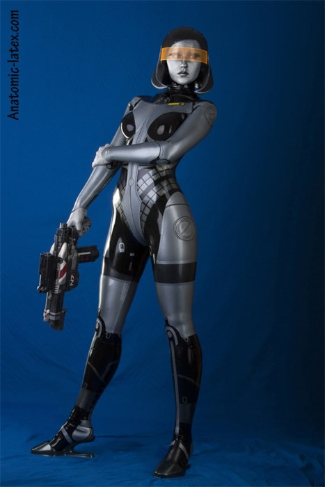 cosplay edi latex mass effect