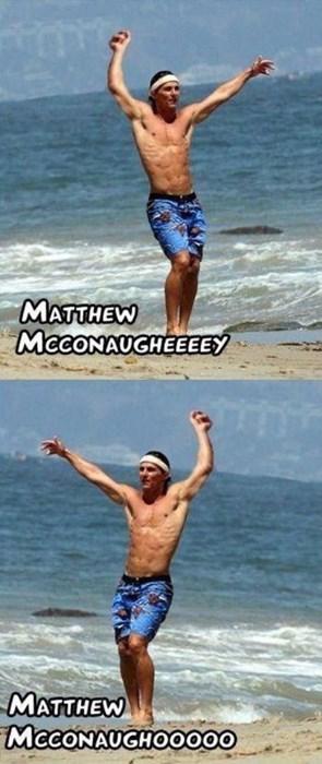 beach celeb funny matthew mcconaughey - 8114947072