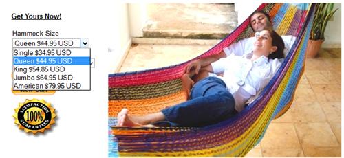 america,hammock,size