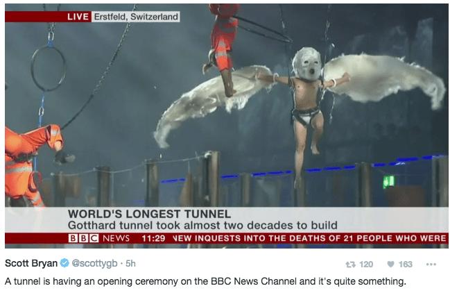 twitter news list dance tunnel Video image - 811525