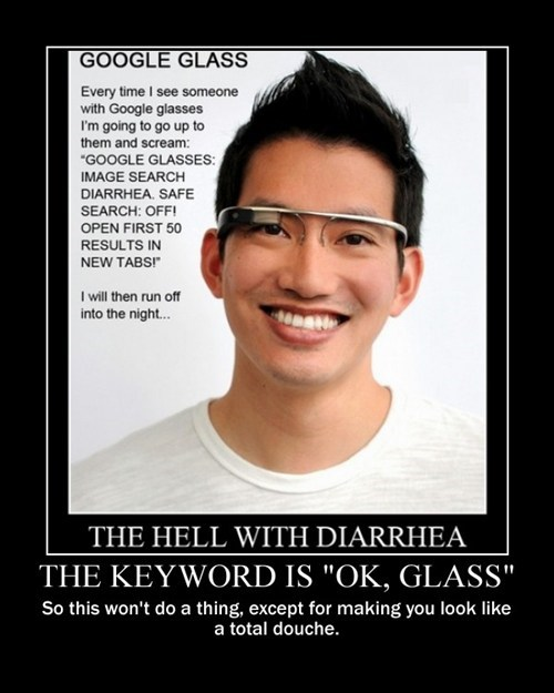 trolling technology funny google glass - 8115626496