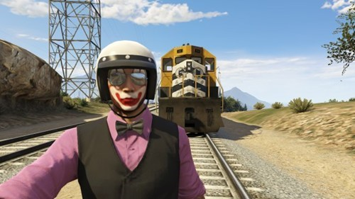 selfie Grand Theft Auto Online - 8115699456