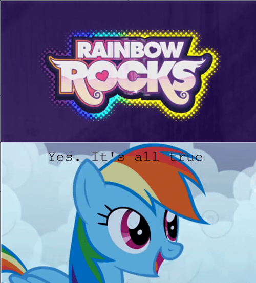 truth rainbow dash rainbow rocks - 8115727616