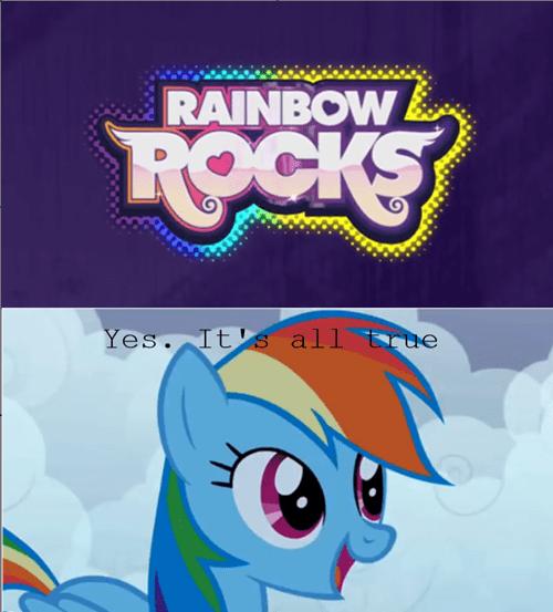 truth rainbow dash rainbow rocks - 8115727616