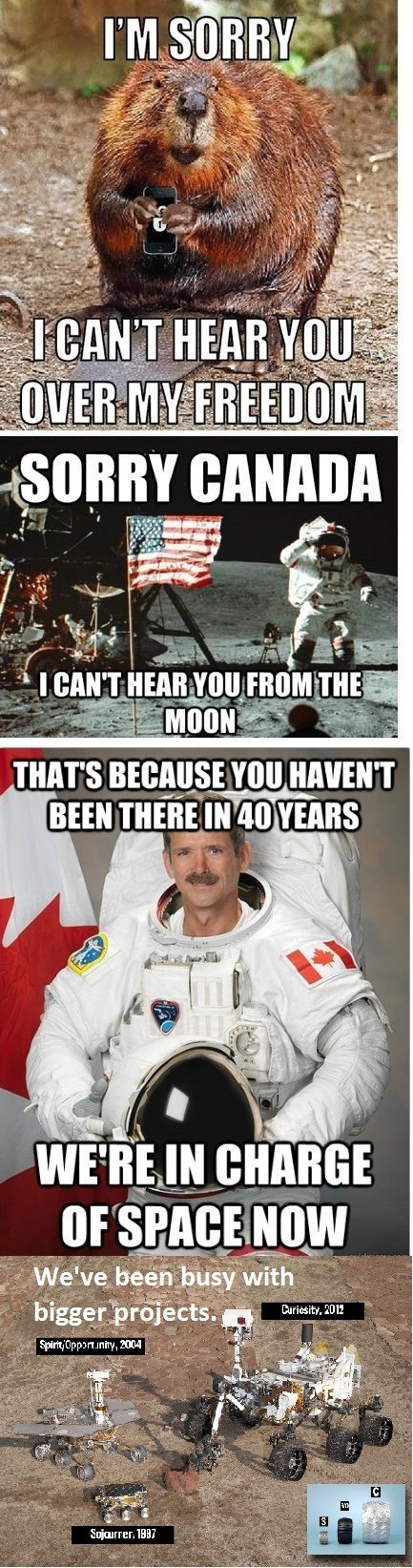 Canada america funny space - 8115762944