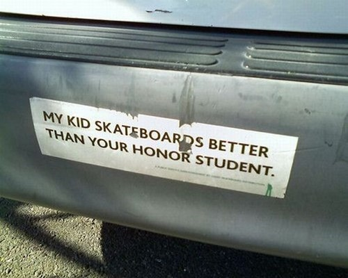 bumper sticker,kids,parenting,g rated